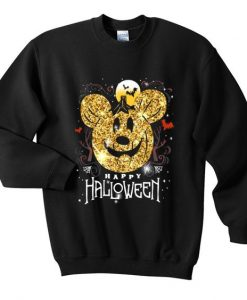 Mickey mouse happy halloween sweatshirt AY