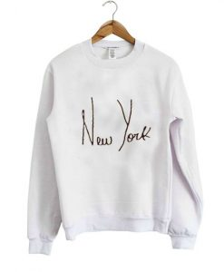 new york natural color Sweatshirts ay