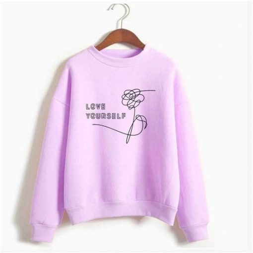 Bts love yourself sweatshirt ay
