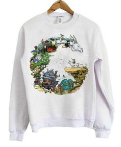 Dragon Studio Ghibli Sweatshirt AY