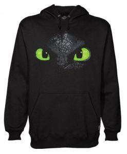 Dreamworks Dragons Toothless faccia Hoodie AY