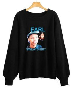 Earl Sweatshirt Black sweatshirt AY
