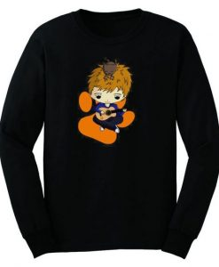 Ed Sheeran Cartoon Baseball Sweatshirt AY
