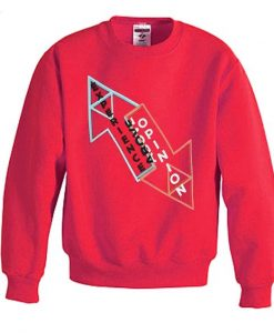 Experience above opinion sweatshirt AY