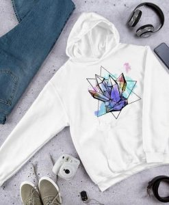 Geo Crystals Hooded AY
