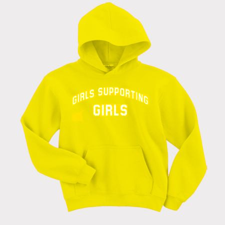 Girls Supporting Girls Hoodie AY