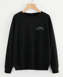 Graphic Print Sweatshirt ay