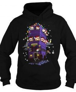 Harry potter Christmas Hoodie AY