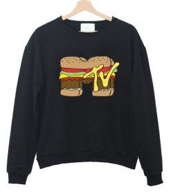 MTV Burger Sweatshirt AY