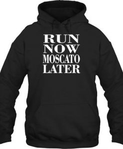 RUN NOW MOSCATO HOODIE AY