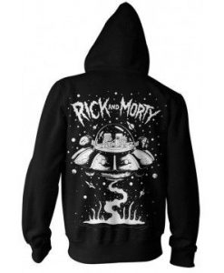 Spaceship Adult Zip-up Hoodie Hoodie Medium ay