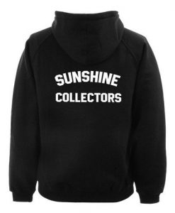Sunshine collectors hoodie BACK ay