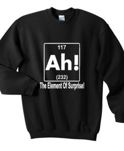 element surprise sweatshirt AY
