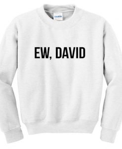 ew david sweatshirt AY