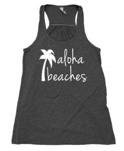 Aloha Beaches Tank Top Palm AY