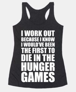 HUNGER GAMERS TANGTOP AY