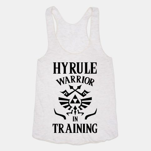 Hyrule Warrior In Training Tank Top AY
