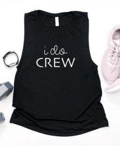 I DO CREW, bridesmaid singlet, AY