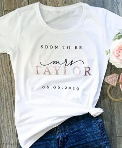 Soon to be, Bride to be gift, AY