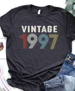 Vintage 1997 Shirt, 23rd Birthday, AYVintage 1997 Shirt, 23rd Birthday, AY