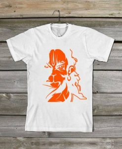 Angry Hanuman Printed Graphic T-Shirt AY