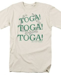 Animal House Toga Toga Toga Cream Shirt AY