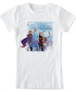Anna, Elsa & Friends ''Lead with Courage'' T-Shirt AY