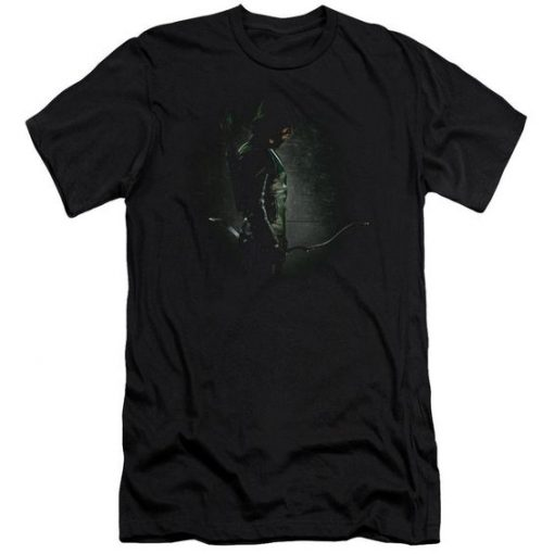 Arrow In The Shadows Men's Slim Fit T-Shirt AY