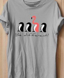 BE DIFFERENT TSHIRT AY
