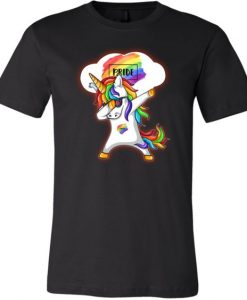 Dabbing Unicorn Shirts, Gay Pride Shirts,AY