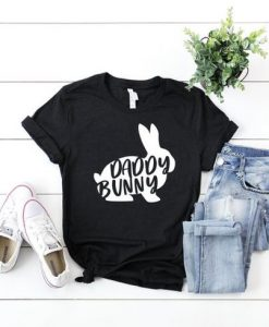Daddy Bunny Shirt, Dad Easter Shirt AY