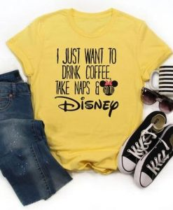 Disney coffee shirt, AY