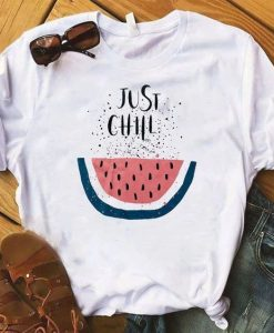 Just Chill Pineapple fruits t shirt AY