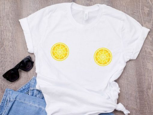 Lemon Boob T-shirt,AY