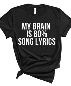 Lyrics Music T-Shirt AY