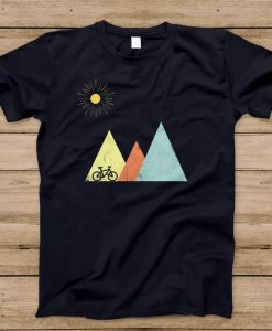 Mountains Mountain Bike Sun' T-Shirt AY