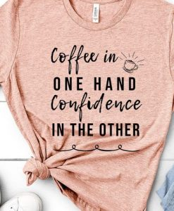T-shirt for women coffee in one AY