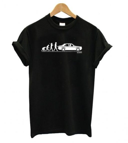 Evolution of Man Classic 190e W201 T shirt AY