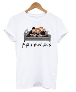 F.r.i.e.n.d.s Harry Potter Movie Mashup t shirt AY