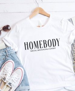 HOMEBODY social distancing expert Short Sleeve T-Shirt AY