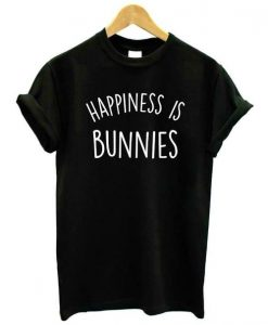 Happiness is Bunnies Women's T-Shirt AY