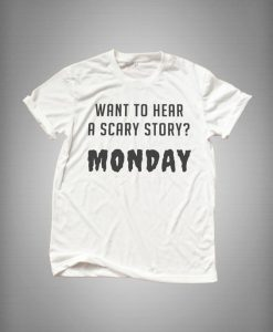 Monday shirt Funny halloween T-shirt AY