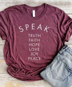 SPEAK TSHIRT AY