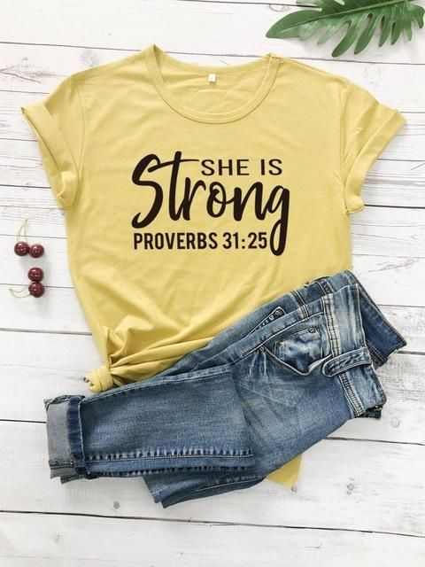 She is Strong Proverbs AY