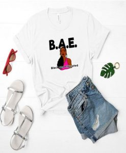 BAE, Black and educated shirt, AY