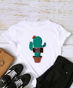 Cactus And Letter Graphic AY