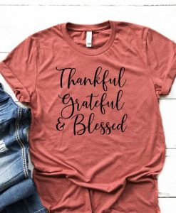 Grateful Thankful Blessed Women's Fall AY
