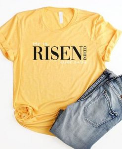 He Is Risen Indeed Christian Easter Shirt AY