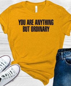You Are Anything But Ordinary AY