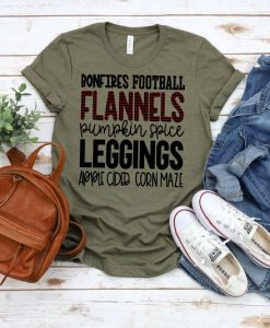 Bonfires Football Flannels Pumpkin AY